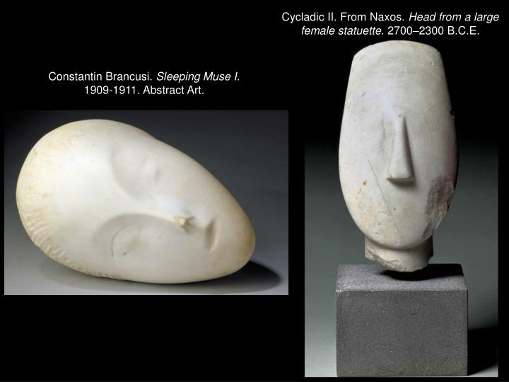Cycladic II. From Naxos.