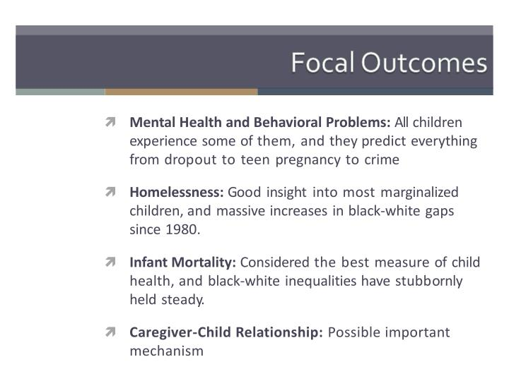 Focal Outcomes