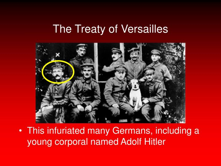 what led to the defeat of the treaty of versailles Wwi ended with germany signing the treaty of versailles germany was forced  to sign this treaty, because if they did not sign the treaty, then they would be.