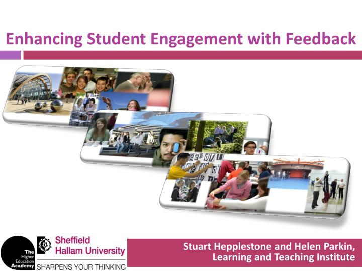 enhancing student engagement with feedback n.
