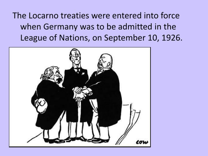 Ppt The Locarno Agreement Pages 117 118 Powerpoint Presentation