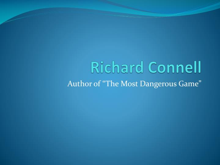 richard connell n.