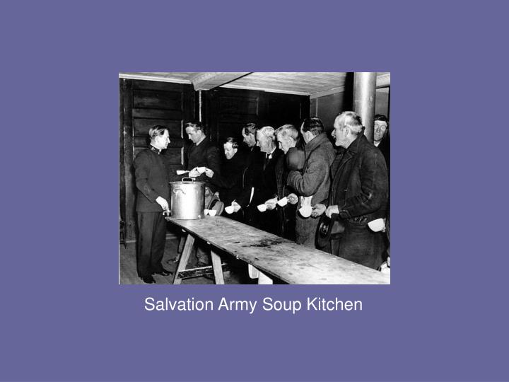 Salvation Army Soup Kitchen