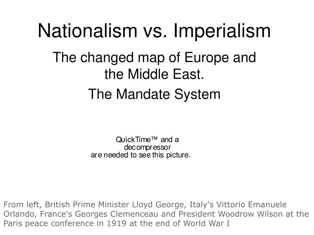 PPT - Nationalism vs. Imperialism PowerPoint Presentation - ID:5825456