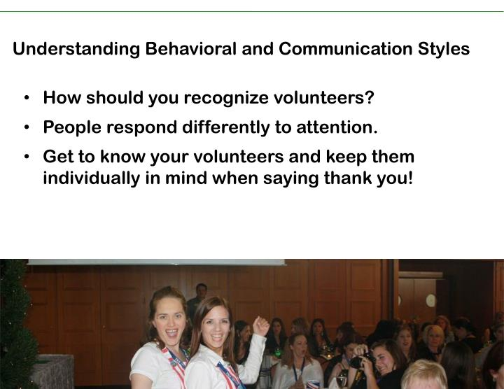 Understanding Behavioral and Communication Styles