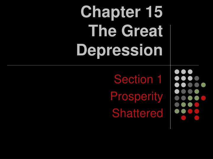 chapter 15 the great depression n.