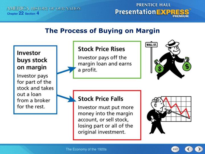 The Process of Buying on Margin
