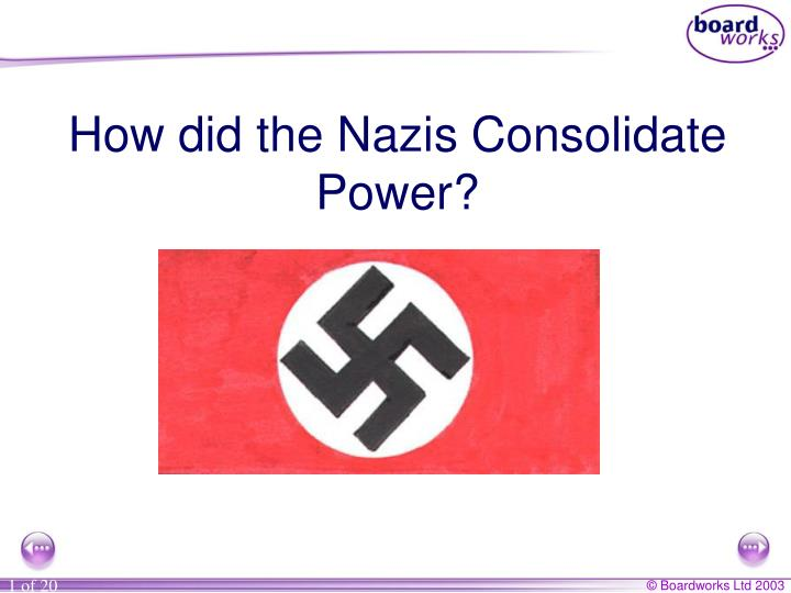 how did hitler consolidated his power essay During the period leading up to world war ii, there were two men who were on opposing sides, the men were adolph hitler and joseph stalin these men were each triumphant in their rise to power in their countries and they were very comparable in the ways that they succeeded.