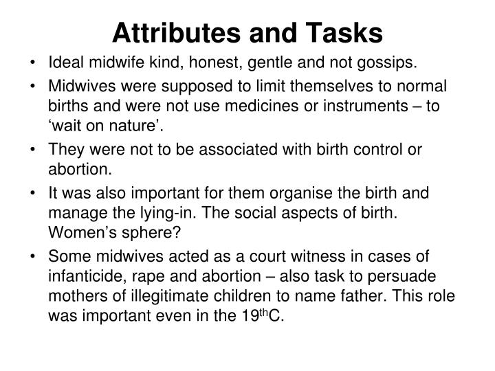 Attributes and Tasks