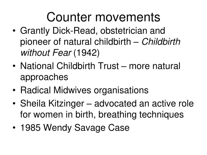 Counter movements