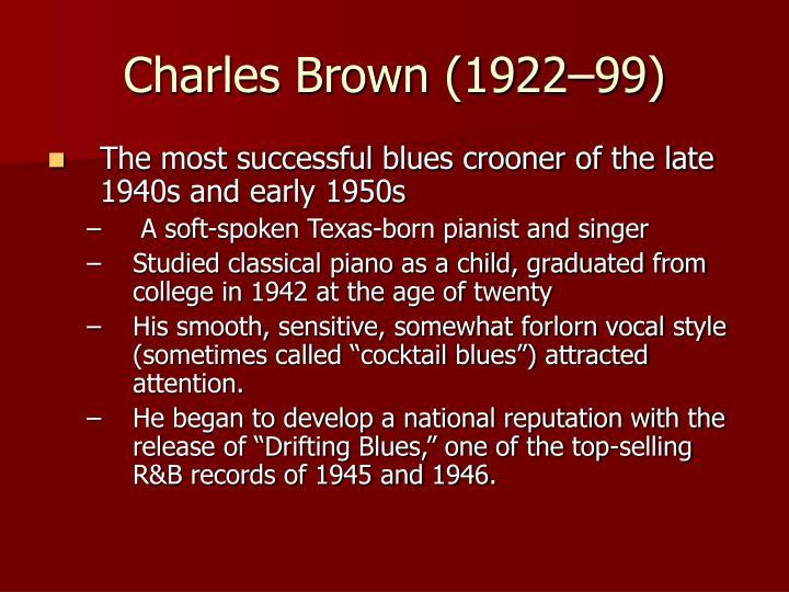 Charles Brown (1922–99)