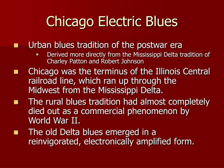 Chicago Electric Blues
