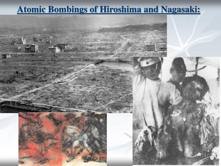 was bombing hiroshima and nagasaki necessary to In august of 1945 nuclear weapons were exploded upon the people of hiroshima and nagasaki in japan following these atomic bombings, japan surrendered but were the atomic bombings necessary to save allied lives and end japan's threat to world peace while avoiding a deadly invasion of the japanese mainland.