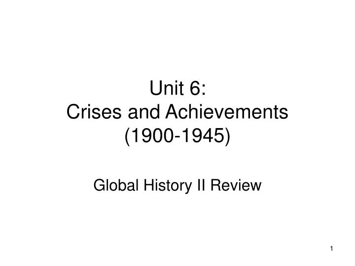 unit 6 timeline « period 6: 1865-1898 timeline documents disfranchisement of african american voters in virginia, 1901 triangle shirtwaist factory fire, 1911.