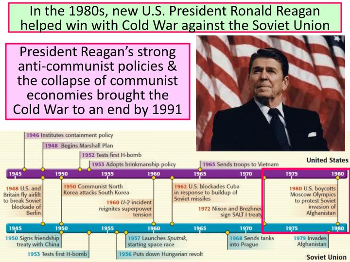 reagans strategic policies helped bring an end to cold war Strategic arms control in mid-1982, reagan agreed to resume strategic nuclear arms reduction talks, dubbed start  of his role in the end of the cold war and the.