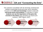 i 2a and connecting the dots