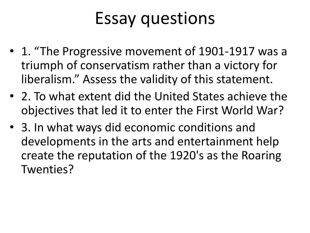 progressivism examples