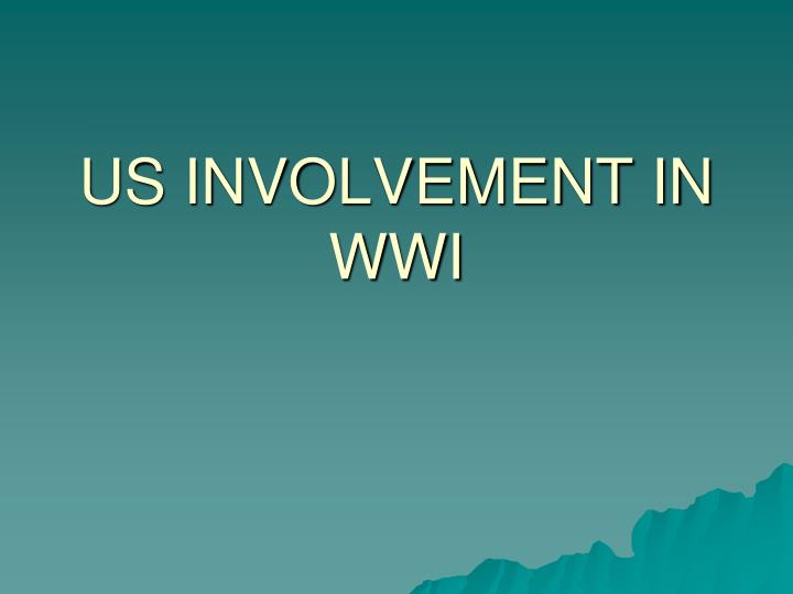 us involvement in wwi n.