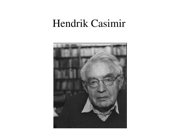 Hendrik Casimir
