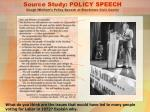 source study policy speech gough whitlam s policy speech at blacktown civic centre