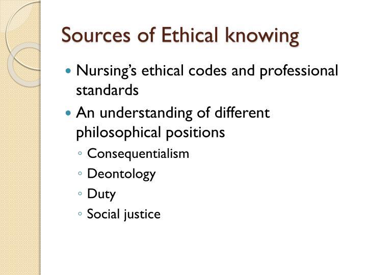 deontology in nursing