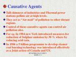 causative agents