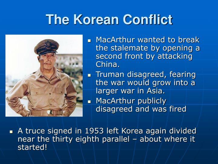 The Korean Conflict