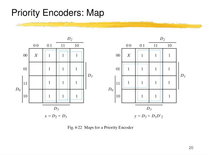 Priority Encoders: Map