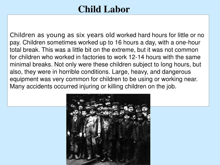 Children as young as six years old