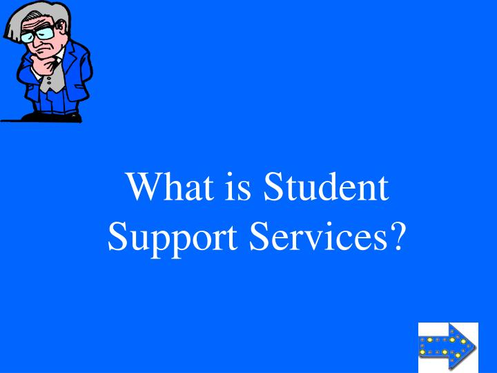What is Student Support Services?