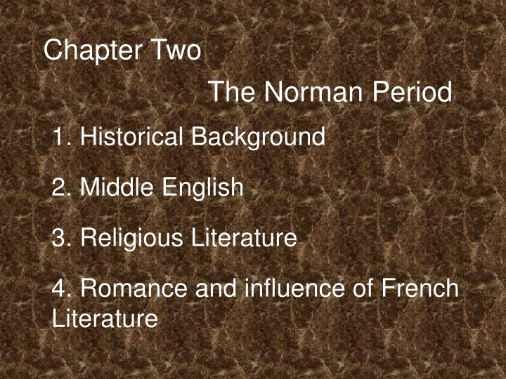 chapter 1 historical background to the
