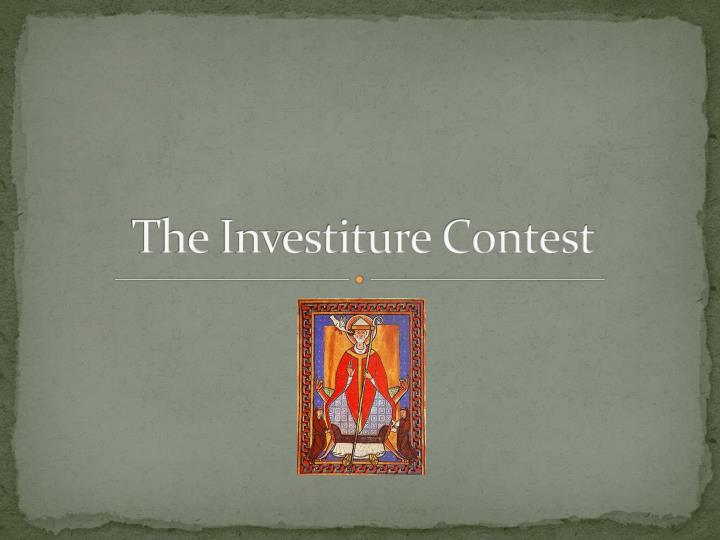 the investiture contest n.