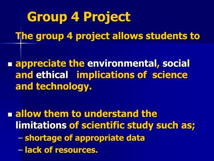 g roup 4 p roject n.