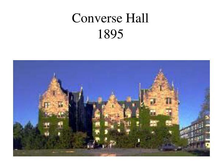 Converse Hall