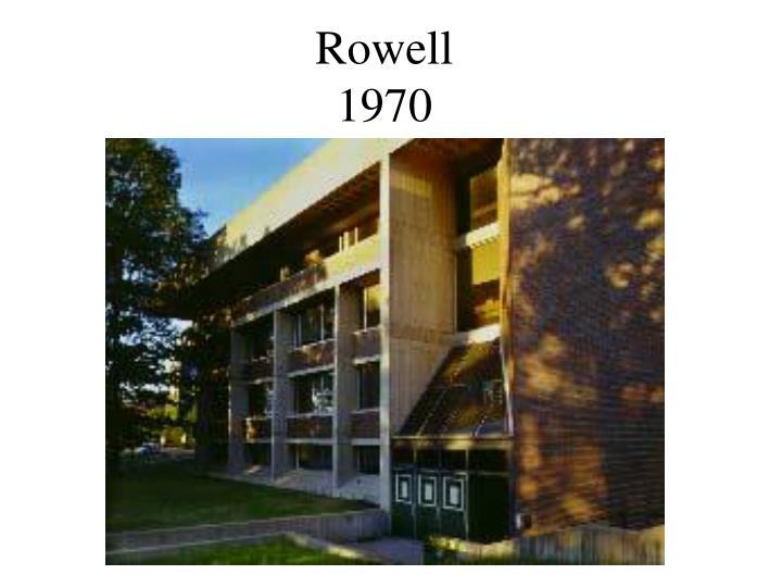 Rowell
