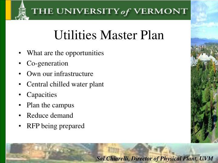 Utilities Master Plan