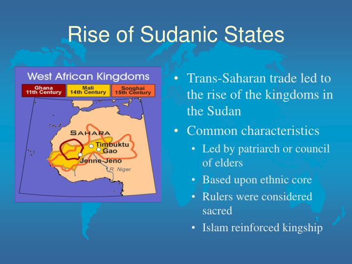 Rise of Sudanic States