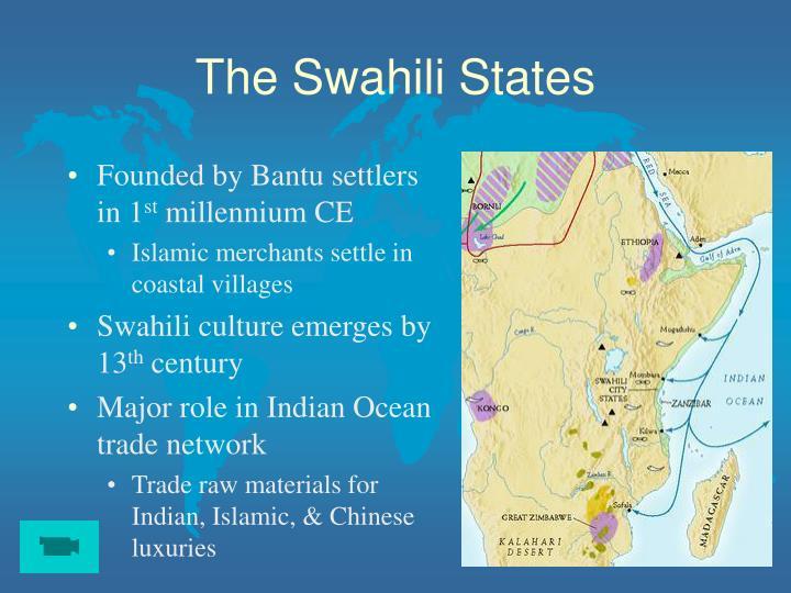 The swahili states