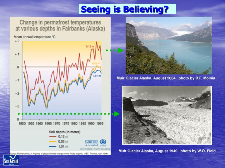 Seeing is Believing?