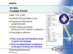s7 scl langage volu