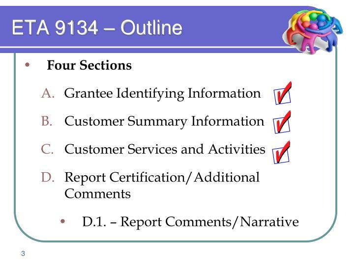 Eta 9134 outline