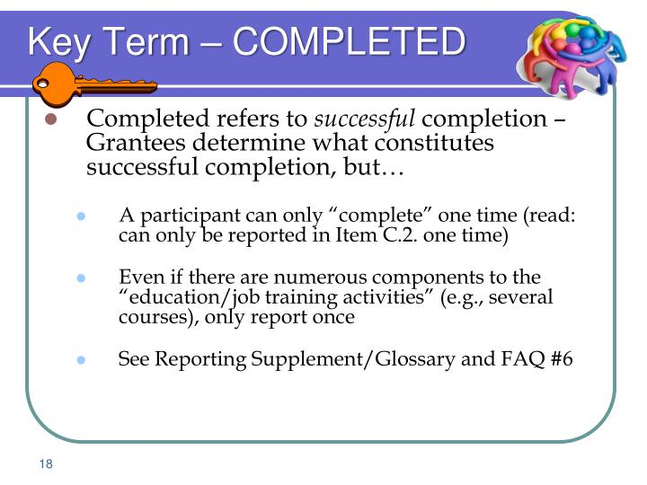 Key Term – COMPLETED