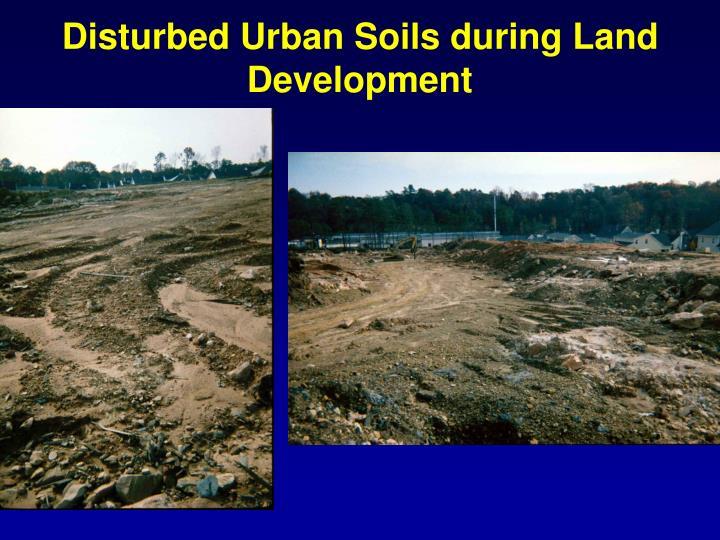 Disturbed Urban Soils during Land Development