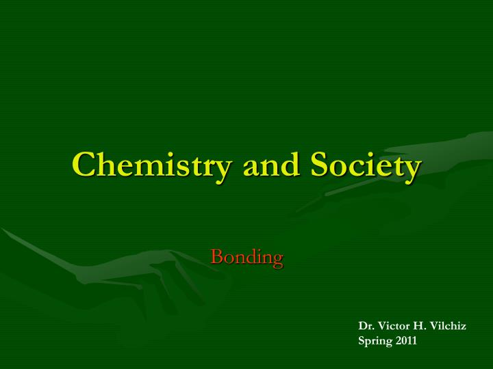 chemistry and society n.