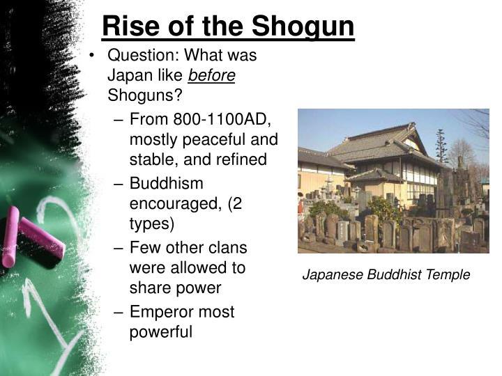 Rise of the Shogun