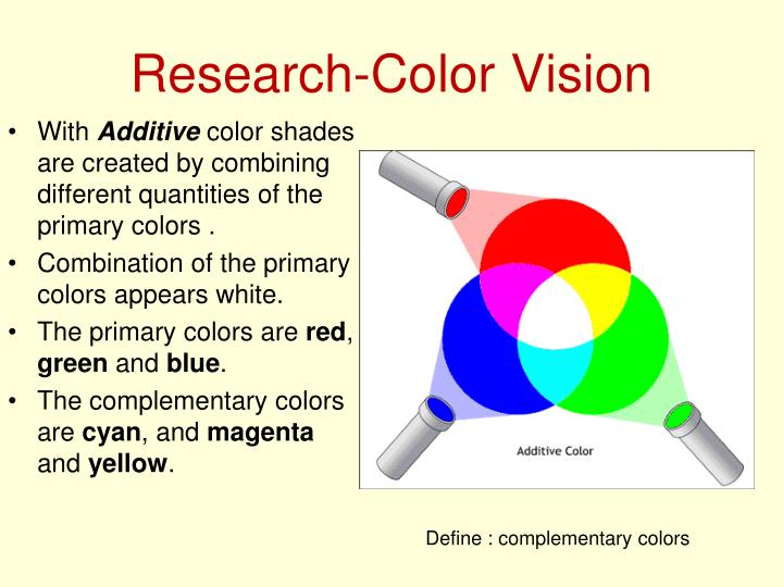 Research-Color Vision
