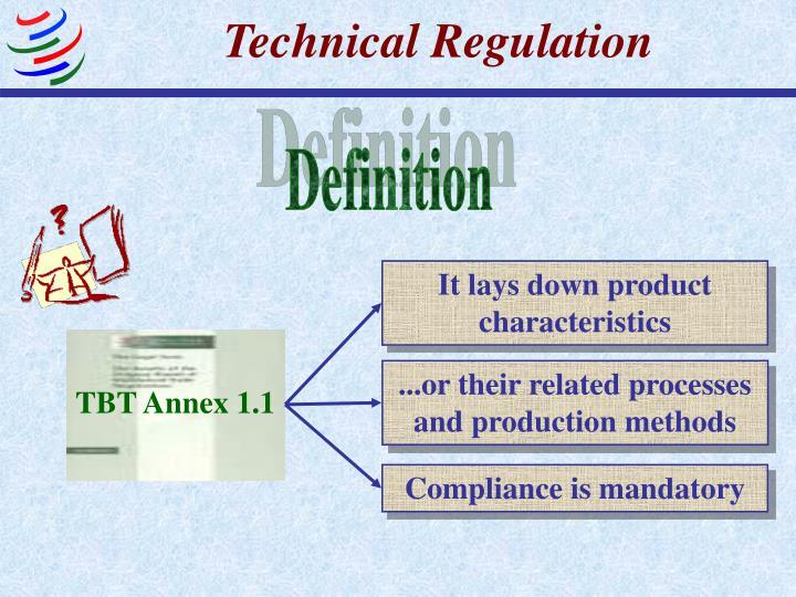 Technical Regulation