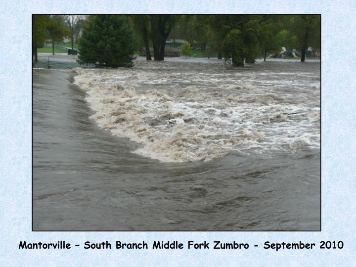 Mantorville – South Branch Middle Fork Zumbro - September 2010