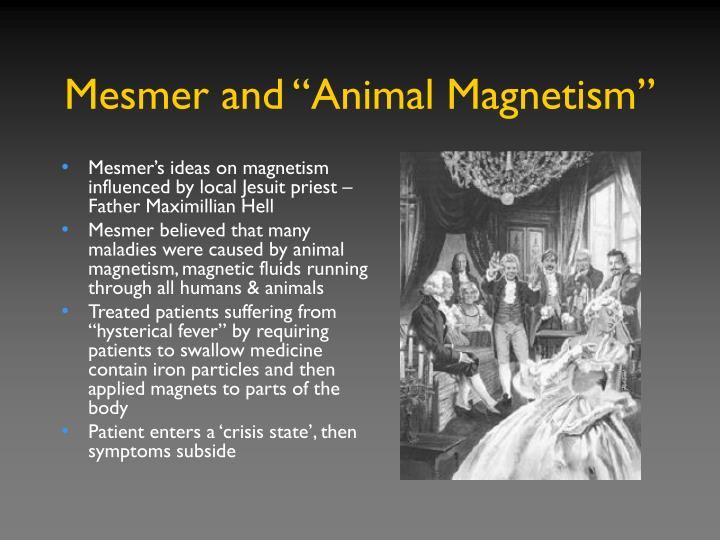 "Mesmer and ""Animal Magnetism"""