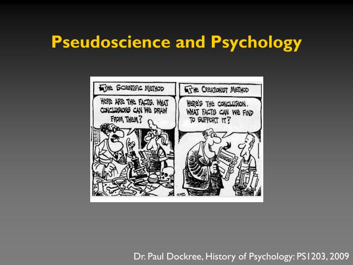 Pseudoscience and psychology